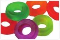 Gummi Mini Assorted Rings