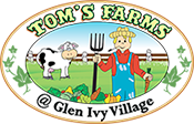 Tom's Farms Amusement Park Temescal Valley Logo